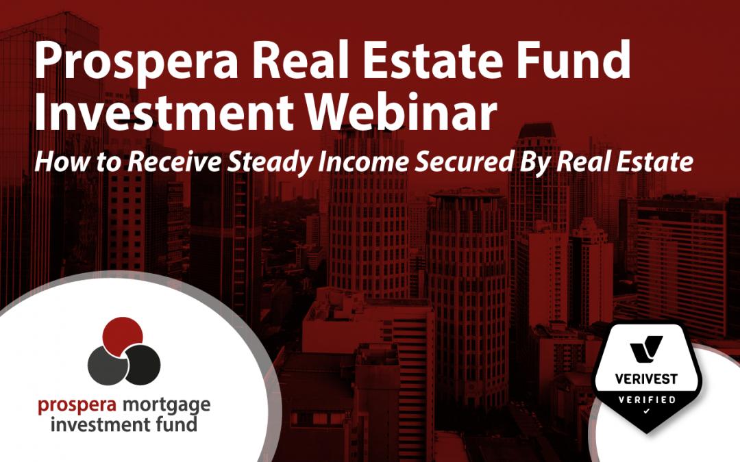 Prospera Mortgage Investment Fund Presentation